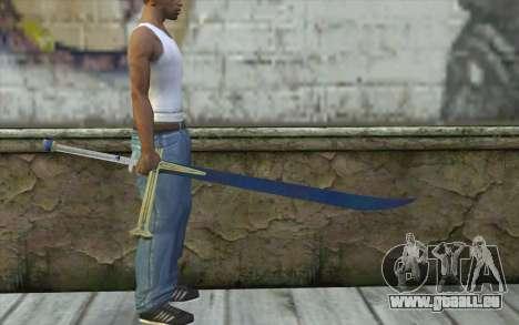 One Piece Black Sword pour GTA San Andreas troisième écran