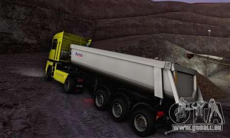Schmied Bigcargo Solid Stock für GTA San Andreas rechten Ansicht