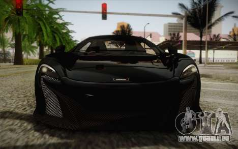 McLaren 650S Spider 2014 für GTA San Andreas Seitenansicht