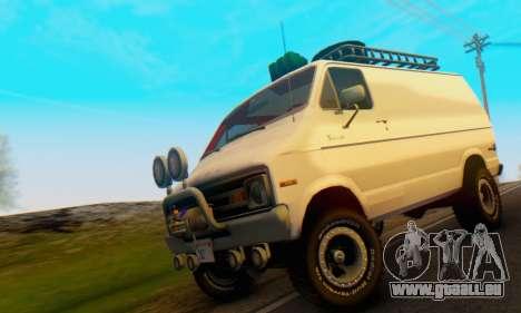Dodge Tradesman Van 1976 pour GTA San Andreas