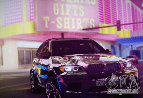 BMW X5M 2013 pour GTA San Andreas