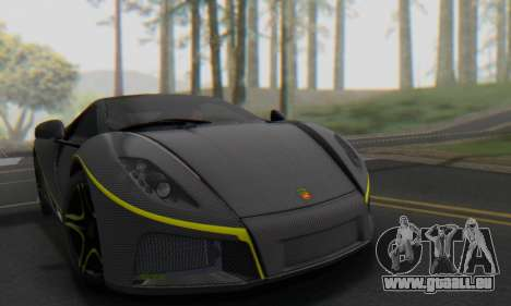 GTA Spano 2014 Carbon Edition pour GTA San Andreas