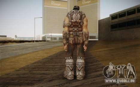 Marcus Fenix из Gears of War 3 pour GTA San Andreas deuxième écran