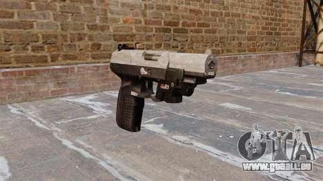 Pistolet FN Cinq à sept LAM ACU Camo pour GTA 4