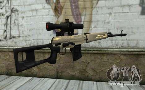 SVD Scharfschützengewehr für GTA San Andreas zweiten Screenshot
