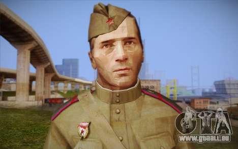 Les soldats soviétiques pour GTA San Andreas troisième écran