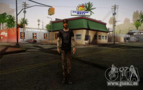 Nick из The Walking Dead pour GTA San Andreas