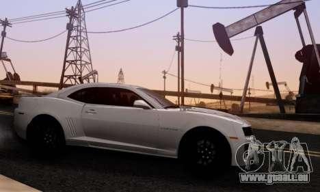 Chevrolet Camaro ZL1 2014 pour GTA San Andreas laissé vue