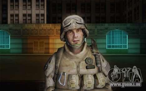 U.S. Marines pour GTA San Andreas troisième écran