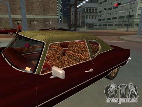 Yardie Lobo from GTA 3 für GTA San Andreas rechten Ansicht