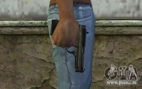 M9 Pistol pour GTA San Andreas troisième écran