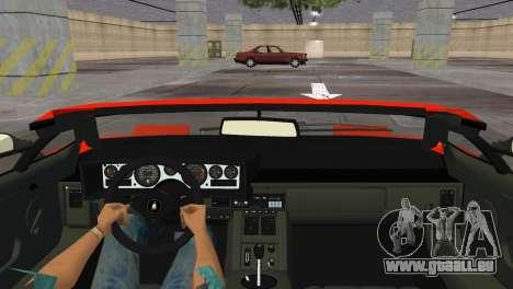 Lamborghini Countach LP5000 Extreme für GTA Vice City rechten Ansicht