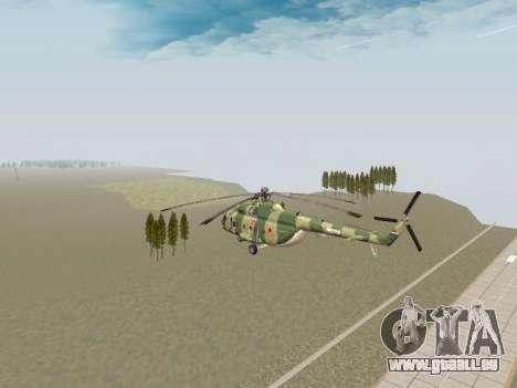 Mi-8T pour GTA San Andreas vue de droite