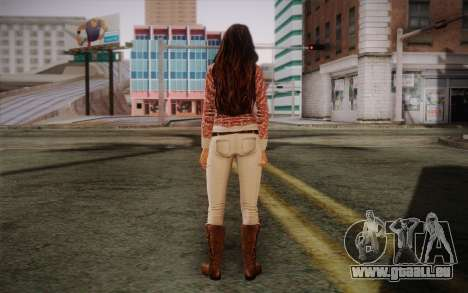 Megan Fox pour GTA San Andreas deuxième écran