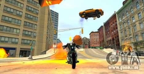 Ghost Rider pour GTA 4 secondes d'écran