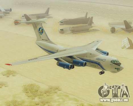 Il-76T AVAST für GTA San Andreas