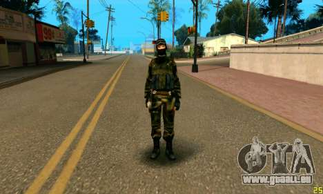 Fighter Alpha Antiterroriste A pour GTA San Andreas