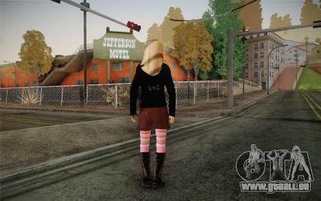 Avril Lavigne pour GTA San Andreas deuxième écran