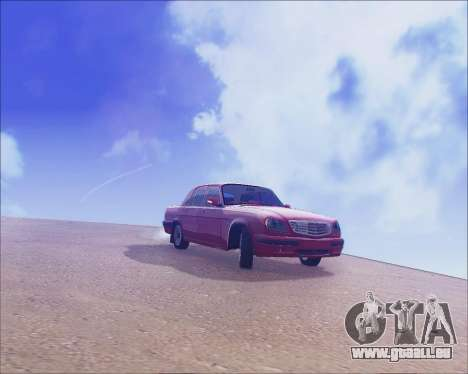 GAZ 31105 Accordables pour GTA San Andreas