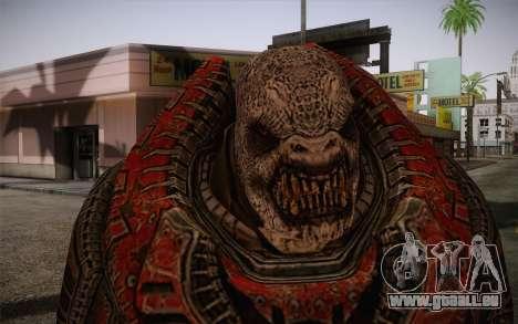 Theron Guard Cloth From Gears of War 3 v1 pour GTA San Andreas troisième écran