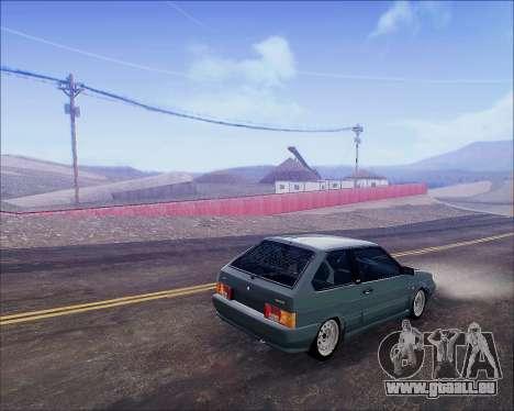 VAZ 2112 Tuneable für GTA San Andreas rechten Ansicht