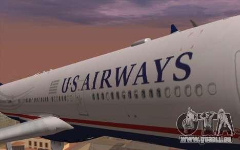 Airbus A330-300 für GTA San Andreas Rückansicht
