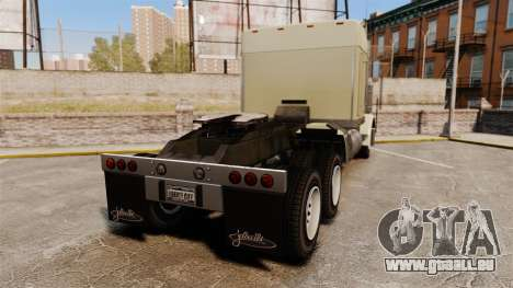 GTA V JoBuilt Phantom für GTA 4 hinten links Ansicht