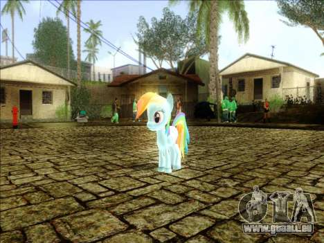 Rainbow Dash pour GTA San Andreas
