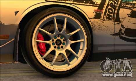 Dodge Challenger SRT8 2012 pour GTA San Andreas vue de droite