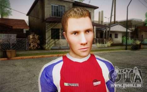 Footballeur pour GTA San Andreas troisième écran
