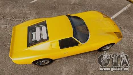 GTA V Pagassi Monroe für GTA 4 rechte Ansicht