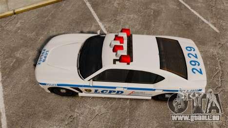 GTA V Bravado Buffalo LCPD für GTA 4 rechte Ansicht