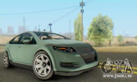 Cheval Surge V1.0 pour GTA San Andreas vue intérieure