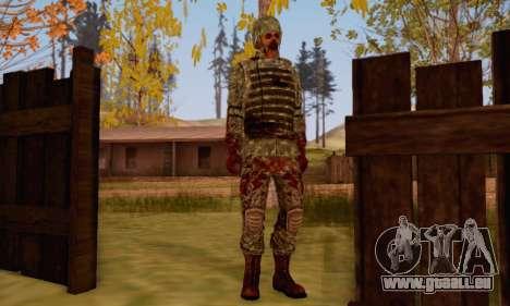 Zombie Soldier für GTA San Andreas