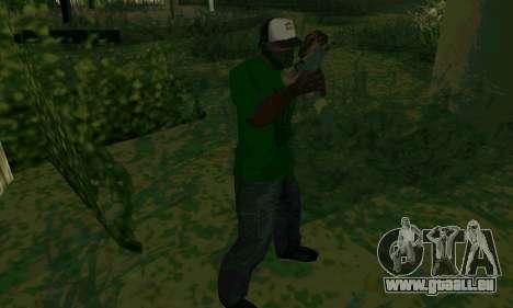 Les nouvelles fonctionnalités d'armes pour GTA San Andreas cinquième écran