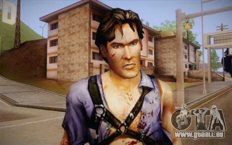 Ash Williams из Evil Dead Regeneration für GTA San Andreas dritten Screenshot