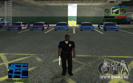 C-HUD by SampHack v.2 für GTA San Andreas