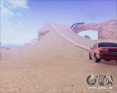 GAZ 31105 Accordables pour GTA San Andreas laissé vue
