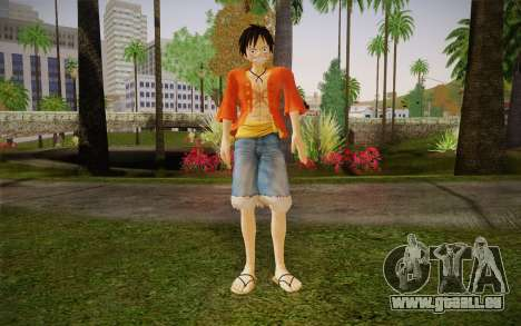 One Piece Monkey D Luffy pour GTA San Andreas