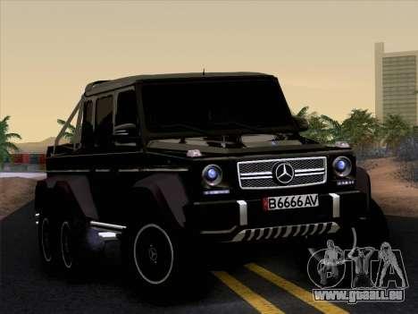 Mercedes-Benz G65 AMG 6X6 pour GTA San Andreas