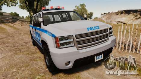GTA V Declasse Granger NYPD für GTA 4