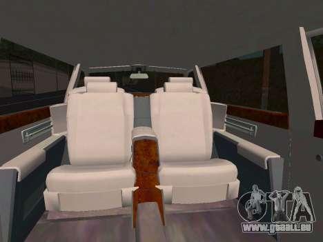 Rolls-Royce Phantom Limo für GTA San Andreas Seitenansicht