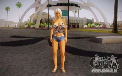 Gina Redo pour GTA San Andreas