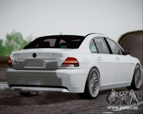 BMW Alpina B7 pour GTA San Andreas vue de droite