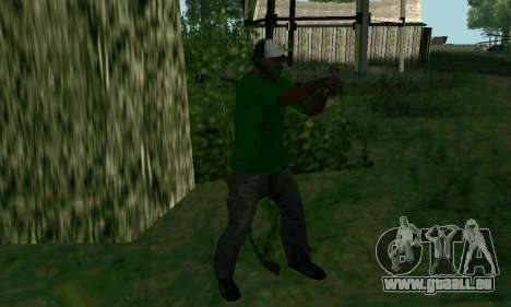 Les nouvelles fonctionnalités d'armes pour GTA San Andreas quatrième écran