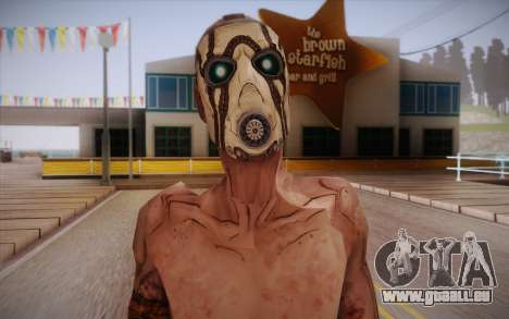 Gangster de Borderlands 2 pour GTA San Andreas troisième écran