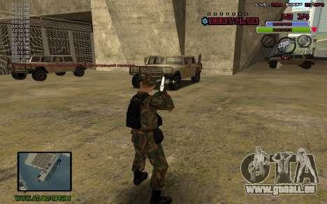 C-HUD by Mr.Bim pour GTA San Andreas