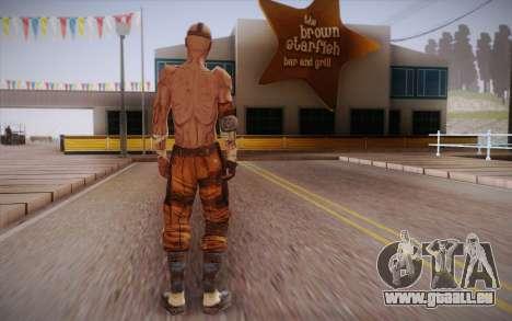 Gangster de Borderlands 2 pour GTA San Andreas deuxième écran