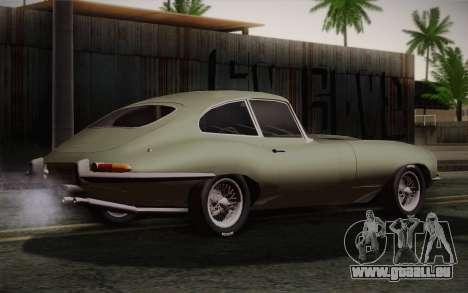 Jaguar E-Type 4.2 für GTA San Andreas linke Ansicht
