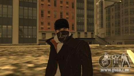 New Aiden Pearce pour GTA San Andreas cinquième écran